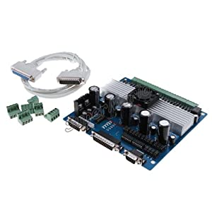 Autek 5 axis tb6560 cnc stepper motor driver controller for Tb6560 stepper motor driver manual
