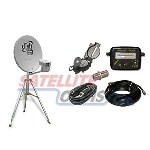 Dish Network 500 Satellite Mobile Rv Tripod Kit