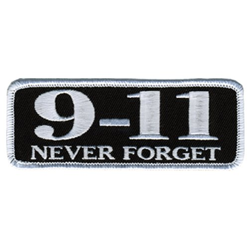 Hot Leathers 9-11 Never Forget Patch (4
