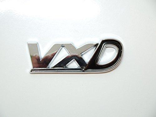 Schwarz chrom & VXD HECKKLAPPE Abzeichen Emblem Vauxhall/Opel Corsa/Astra VXR HECK Kofferraum