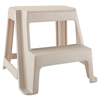 Rubbermaid Two Step Stool 18 9 10l X 18 2 5w X 18 4 5h