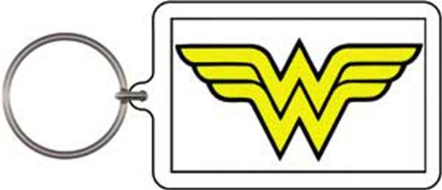 Licenses Products DC Comics Originals Wonder Woman Logo Lucite Keychain