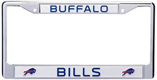 NFL Buffalo Bills Chrome Licensed Plate Frame (License Plate Frame Buffalo compare prices)