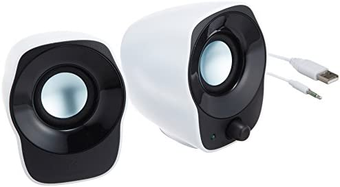 2-Pc. Logicool Z120BW Stereo Speakers
