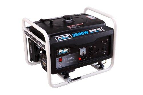 Pulsar PG3500 Gas Generator, 3500-watt