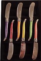 Laguiole 7506P-6 Boîte de 6 Couteaux à Beurre Pastel