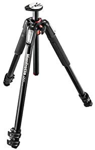 Manfrotto MT055XPRO3 055 Aluminium 3-Section Tripod with Horizontal Column (Black)