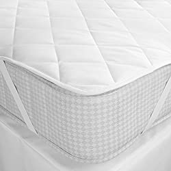 Mharo Rajasthan WaterProof Queen Bed White Mattress Protector