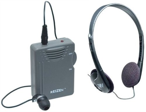 Elite Package: Reizen Loud Ear 120dB Gain Personal Amplifier