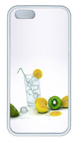 Frozen Lemons Fruit Tpu White Cheap Price Iphone 5S Cover For Apple Iphone 5/5S front-810806
