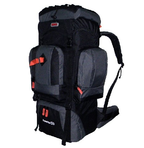 Cuscus 7500Ci Internal Frame Hiking Camp Travel Backpack Gray front-302637