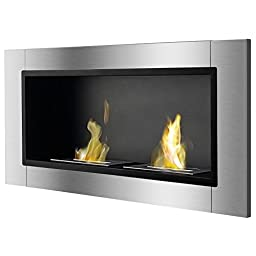 Ignis Lata Recessed Ventless Ethanol Fireplace
