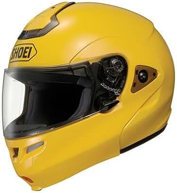 Shoei MULTITEC FLIP-UP AXIS YELLOW SIZE:LRG Motorcycle Full-Face-Helmet
