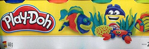 Play-Doh - 4 Vasetti, Pasta da Modellare