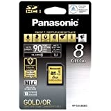Panasonic RP-SDUBG08GAK 8GB SDHC Memory Card
