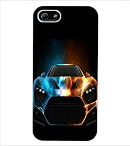 ColourCraft Sport Car Design Back Case Cover for APPLE IPHONE 5S