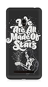 Amez designer printed 3d premium high quality back case cover for Asus Zenfone 5 (We are all made of stars)