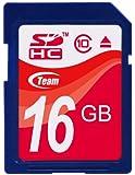 Team SDHCカード 16GB Class 10 ECOパッケージ 10年保証 TASD16GBC10E