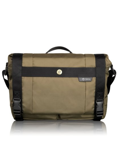 Tumi Luggage T-tech Gateway Palermo Expandable Laptop Messenger, Moss, One Size