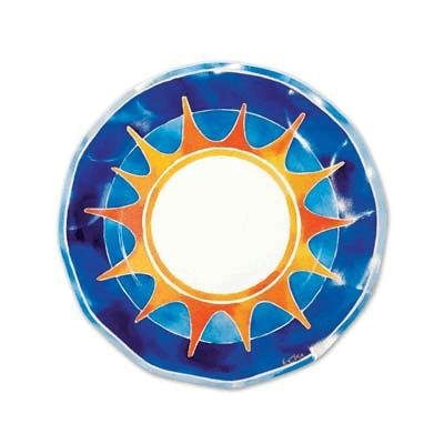 Summer Medium Plates Party Accessory (1 count) (10/Pkg)