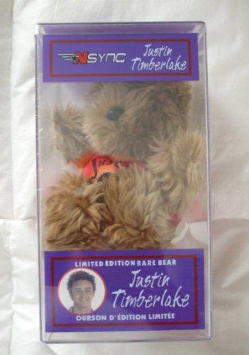Justin Timberlake Bear #3 N SYNC - 1