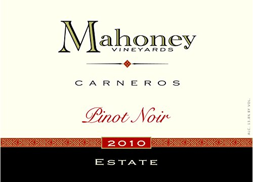 2010 Mahoney Pinot Noir Carneros 750 Ml