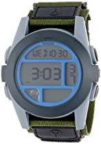 Nixon - Mens Digital Baja Watch, Color: Surplus / Gray / Blue