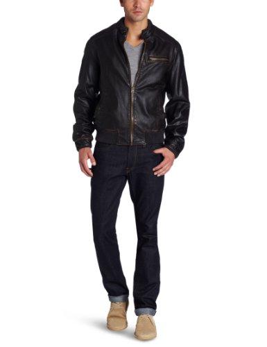 Levi's Men's Faux Leather Bomber Jacket
