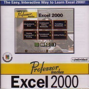 Professor Teaches Excel 2000