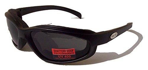 Curv-Z-rembourr-pour-motomotard-compatible-avec-lunettes-de-soleil-Fume-avec-tui-gratuit