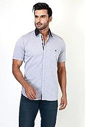 Botticelli Plain Shirts for men-Black