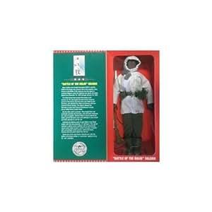 "GI Joe Battle of the Bulge Soldier 12"" figure African american"