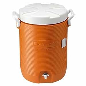 Rubbermaid 5-Gallon Water Cooler, Orange
