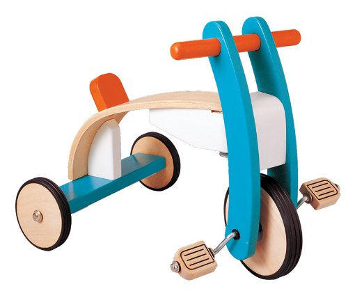 Plan Toys Wooden Trike Bike