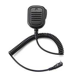 IFeng® 2 PIN Handheld Speaker Mic for Walkie Talkie BAOFENG BF-480 BF-490 BF-320 Kenwood TH-42A TH-42AT TH-42E TH-45 TH-46 Radio