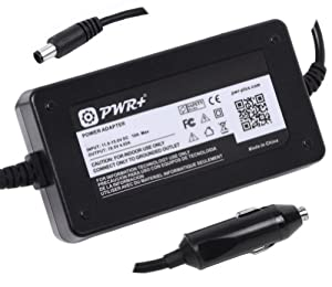 Pwr+® Car Charger for Dell Inspiron M5030 Im5030-2792b3d Im5030-2800b3d Im5030-874b3d ; N4030 In4030-223b3d ; N5030 In5030-2112b3d In5030-2450b3d ; Pa-2e Pa-12 ; 90 Watt Dc Adapter Laptop Battery Charger Notebook Power Supply Cord Netbok Auto Air Plug