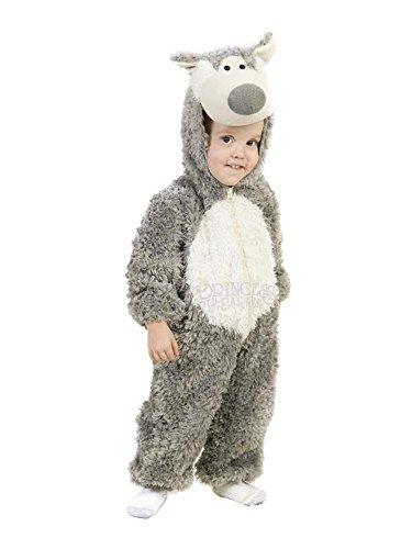 [Princess Paradise boys Little Boys' Toddler Big Bad Wolf Costume 6/12 Months] (Big Bad Wolf Outfit)