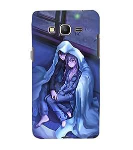Printvisa Premium Back Cover Couple Wrapped Upon A Cold Evening Design For Samsung Galaxy Grand Prime G530h