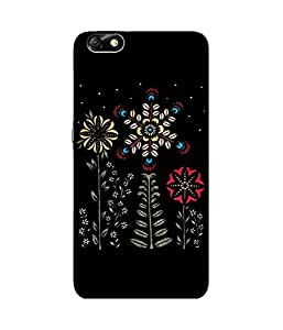 Abstract Flower Huawei Honor 4X Case