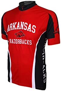 NCAA Arkansas Razorbacks Cycling Jersey by Adrenaline Promotions