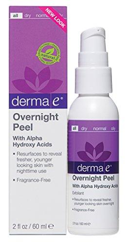 derma e Overnight Peel with Alpha Hydroxy Acids 2 oz (Derma E Dark Circle Eye Cream compare prices)