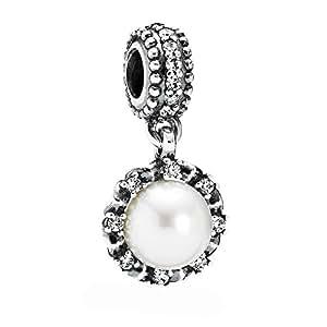 Amazon.com: Pandora 791385p Everlasting Grace Charm: Jewelry