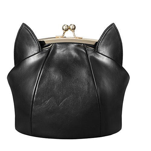 A Purse That Is Made Of Cat Ears