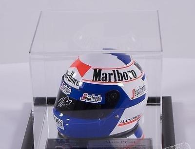 Signed Alain Prost 1/2 Scale F1 Helmet Tobacco - Formula 1 - McLaren 1997 - Autographed NASCAR Helmets