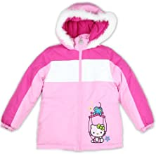 Hello Kitty Girls Winter Puffer Jacket  Coat