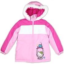 Hello Kitty Girls Winter Puffer Jacket / Coat-6