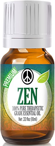 Zen-Blend-100-Pure-Best-Therapeutic-Grade-Essential-Oil-10ml-Comparable-to-Young-Livings-Peace-Calming-Sweet-Marjoram-Roman-Chamomile-Ylang-Ylang-East-Indian-Sandalwood-Vanilla-French-Lavender