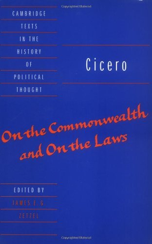 Marcus Cicero - Cicero: On the Commonwealth and On the Laws