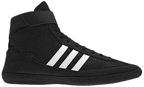 Adidas Wrestling Men's Combat Speed 4 Wrestling Shoe,Black/Running White/Black,9 M US