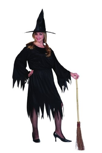 Adult Classic Witch Costume Plus Size (16-20)